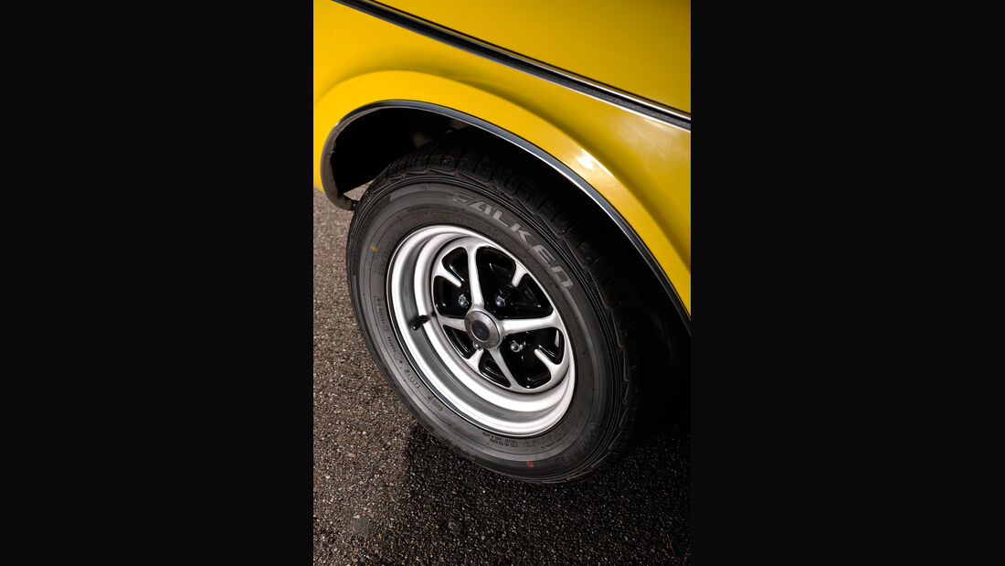 Ford Taunus 2300 GXL, Rad, Felge