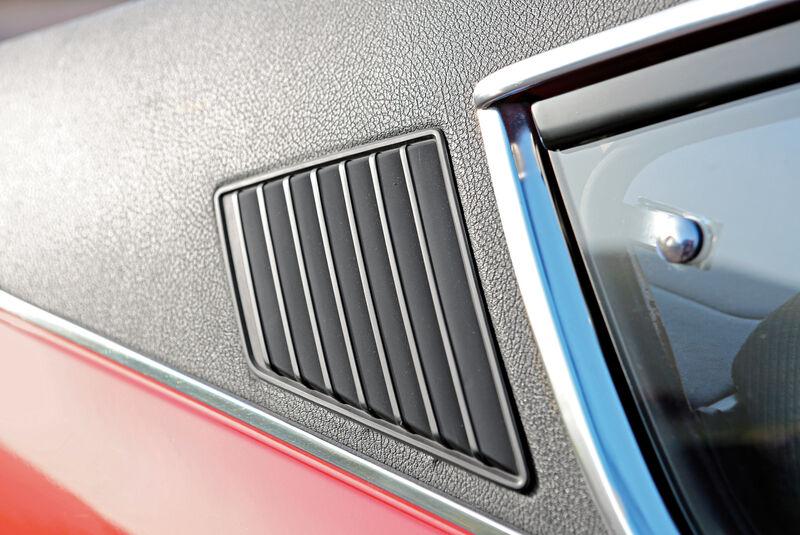 Ford Taunus 2300 GXL, Seitenfenster