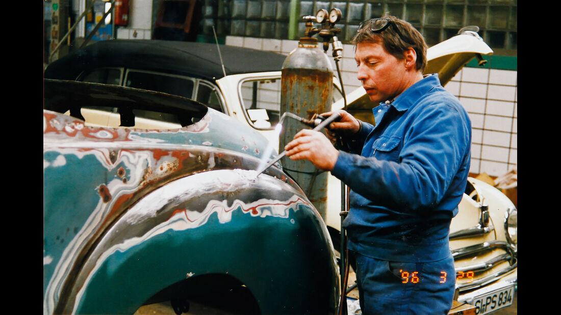 Ford Taunus, Blecharbeiten