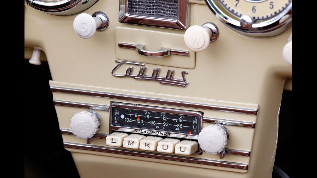 Ford Taunus, Mittelkonsole