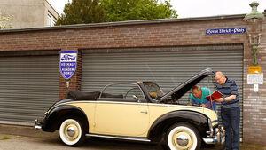 Ford Taunus, Seitenansicht, Motorhaube