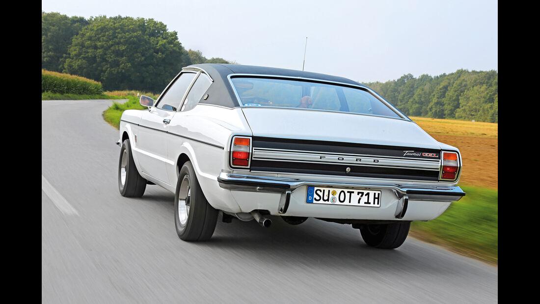 Ford Taunus TC 2.0 GXL V6, Heckansicht
