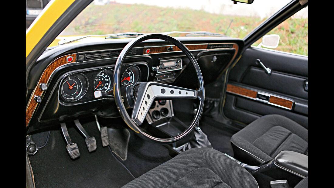 Ford Taunus TC, Cockpit, Rundinstrumente