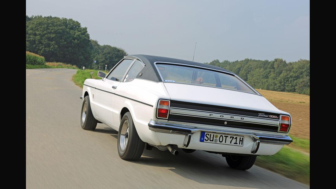 Ford Taunus TC, Heckansicht