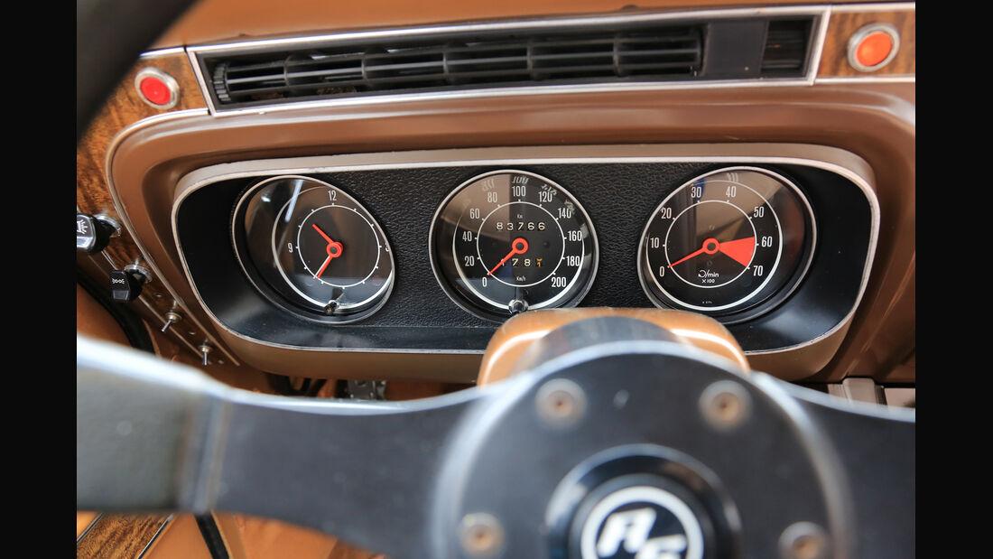Ford Taunus TC, Rundinstrumente