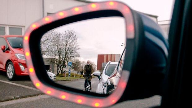 Ford Technik Exit Warning Dooring Unfälle