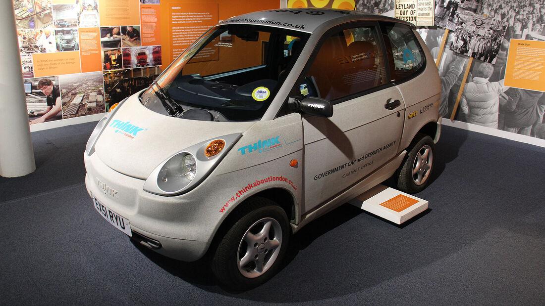 Ford Th!nk City im British Motor Museum
