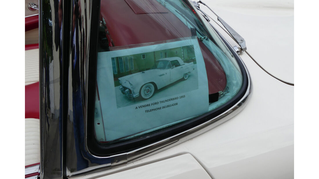 Ford Thunderbird - Carspotting - 24h Le Mans 2018