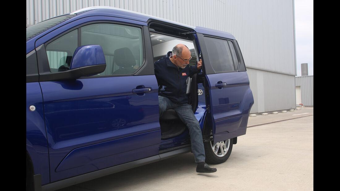 Ford Tourneo Connect 1.0 Ecoboost, Schiebetür, Aussteigen