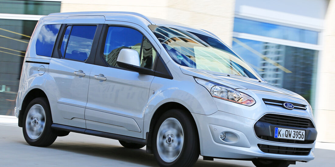 Ford Tourneo Connect 1.6, Frontansicht