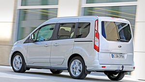 Ford Tourneo Connect 1.6, Heckansicht