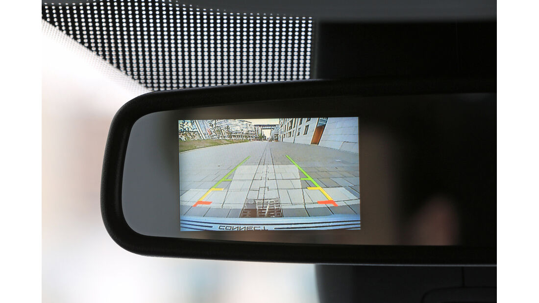 Ford Tourneo Connect 1.6, Rückfahrkamera