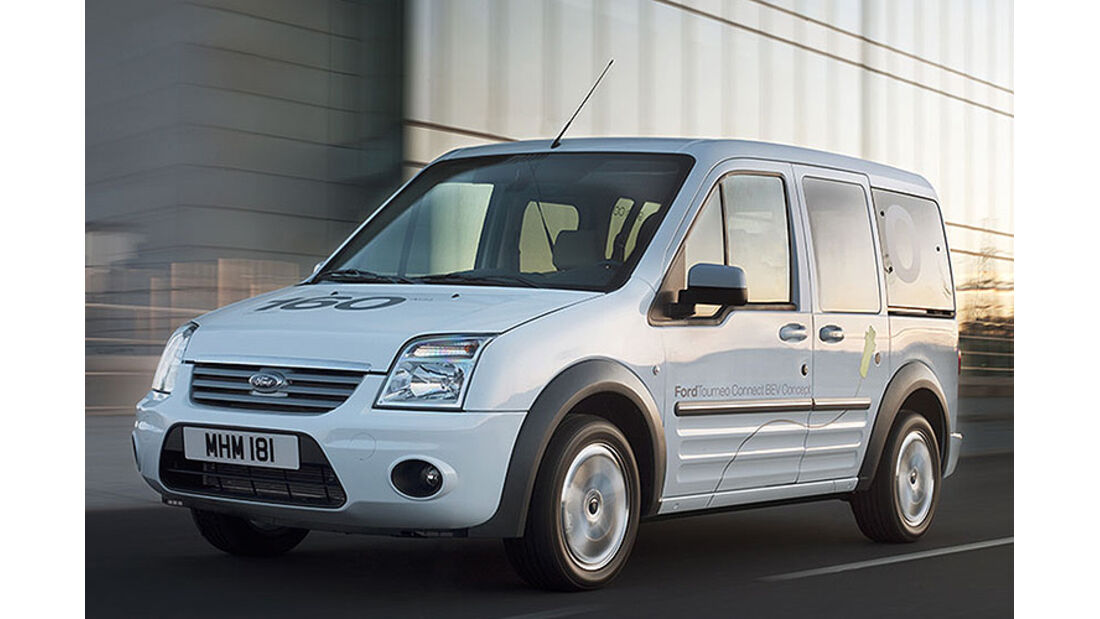 Ford Tourneo Connect BEV Concept