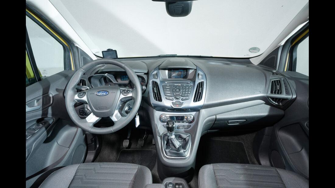 Ford Tourneo Connect, Cockpit
