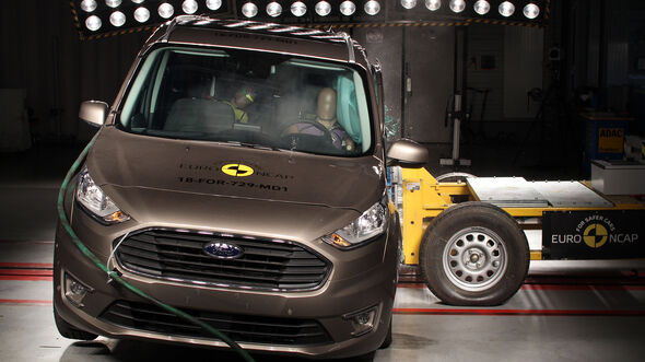 Ford Tourneo Connect EuroNCAP 2018