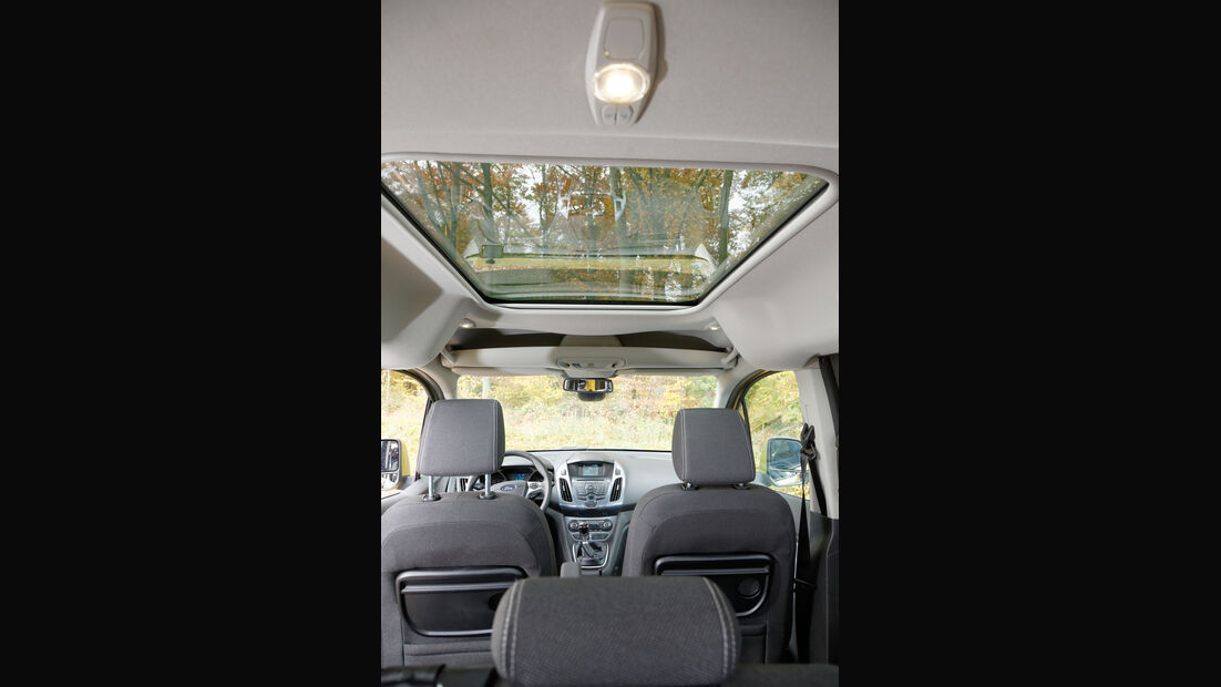 Ford Tourneo Connect, Innenraum