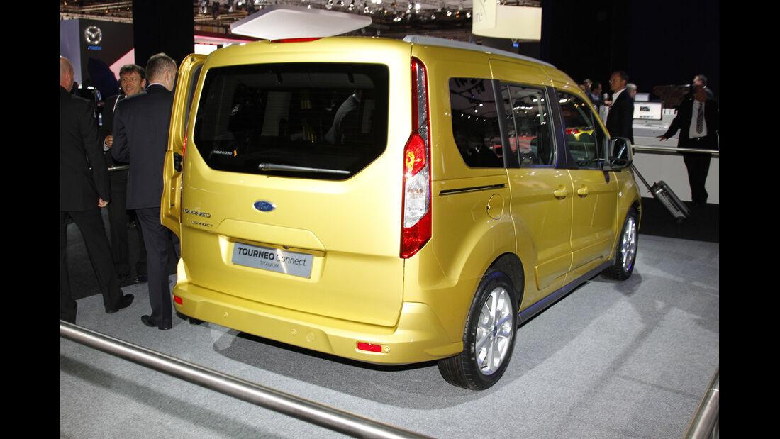 Ford Tourneo Connect, Messe, Autosalon Paris 2012