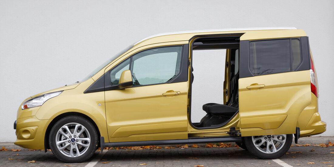 Ford Tourneo Connect, Seitenansicht, Schiebetür