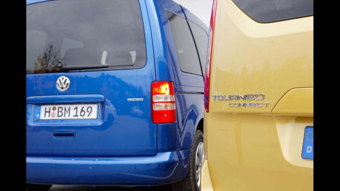 Ford Tourneo Connect, VW Caddy, Typenbezeichnung