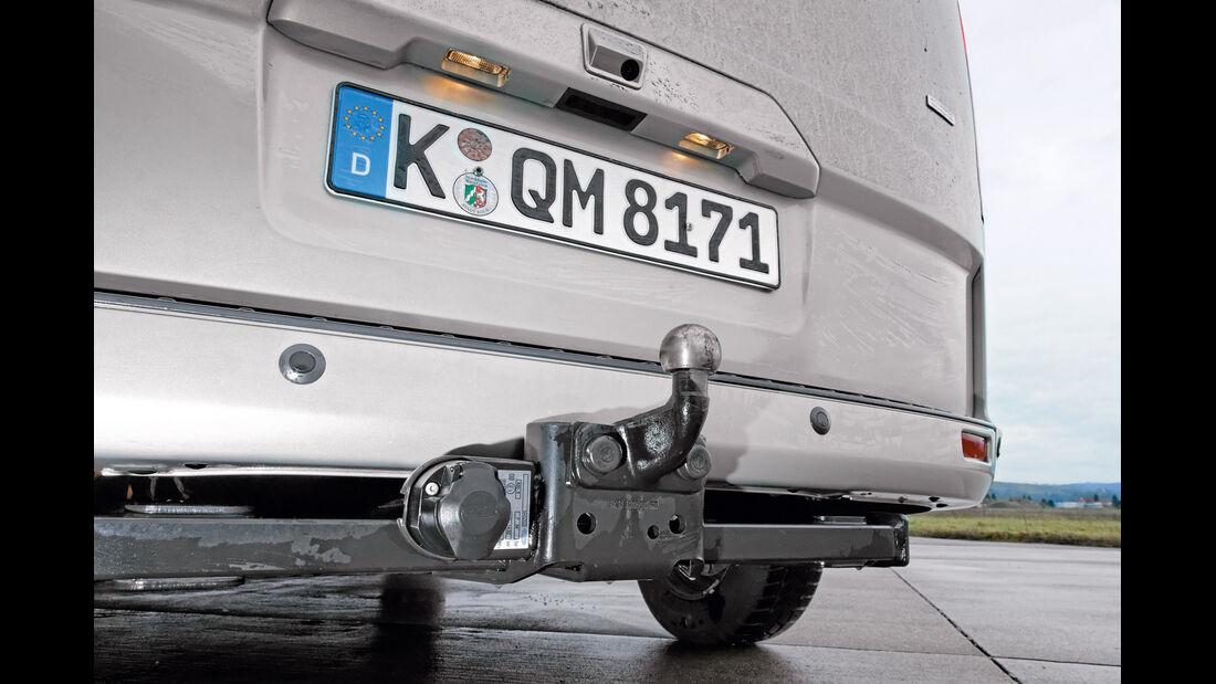 Ford Tourneo Custom, Anhängerkupplung
