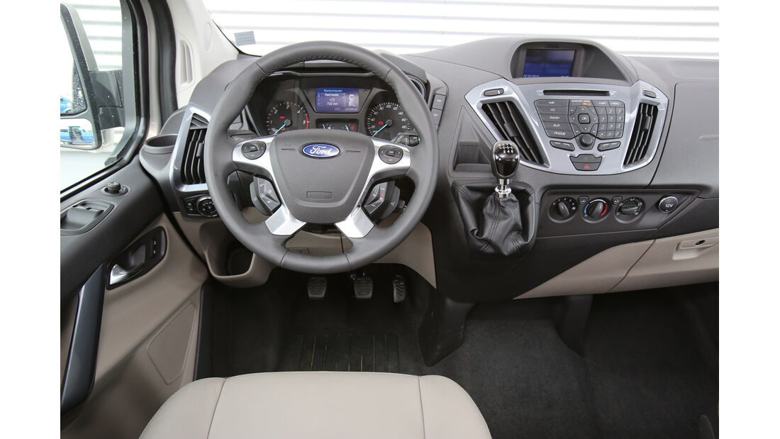 Ford Tourneo Custom, Cockpit, Lenkrad