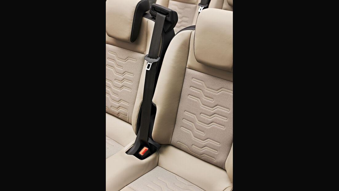 Ford Tourneo Custom Concept, Innenraum