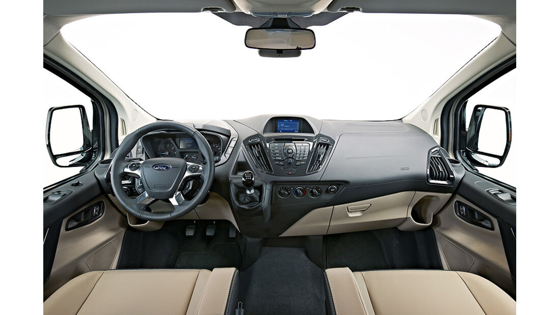 Ford Tourneo Custom Concept, Innenraum, Cockpit