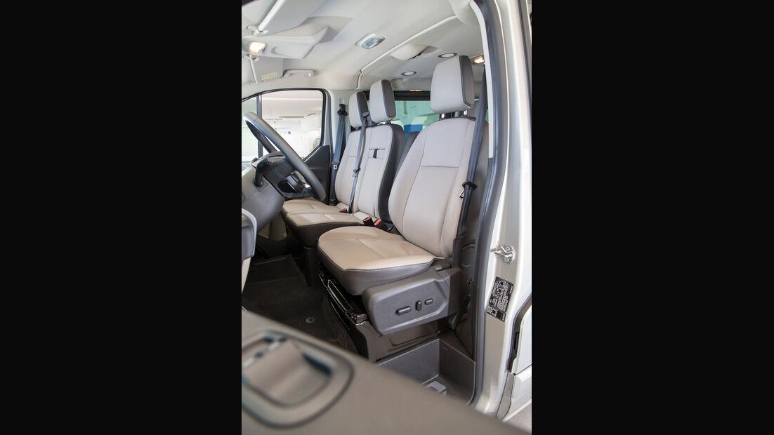 Ford Tourneo Custom, Fahrersitz