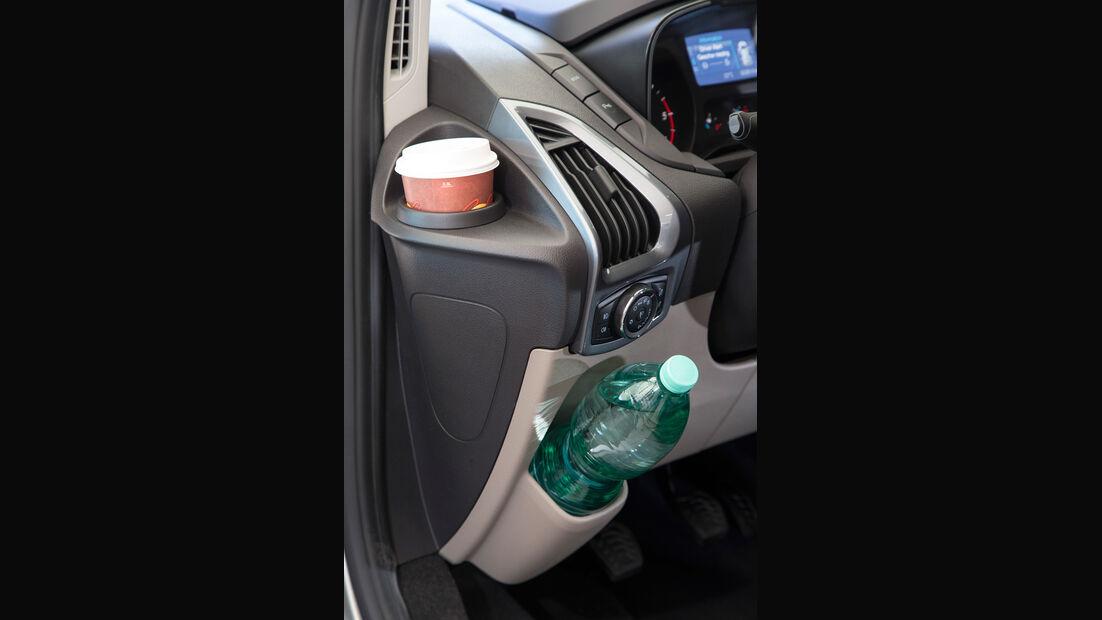 Ford Tourneo Custom, Getränkehalter