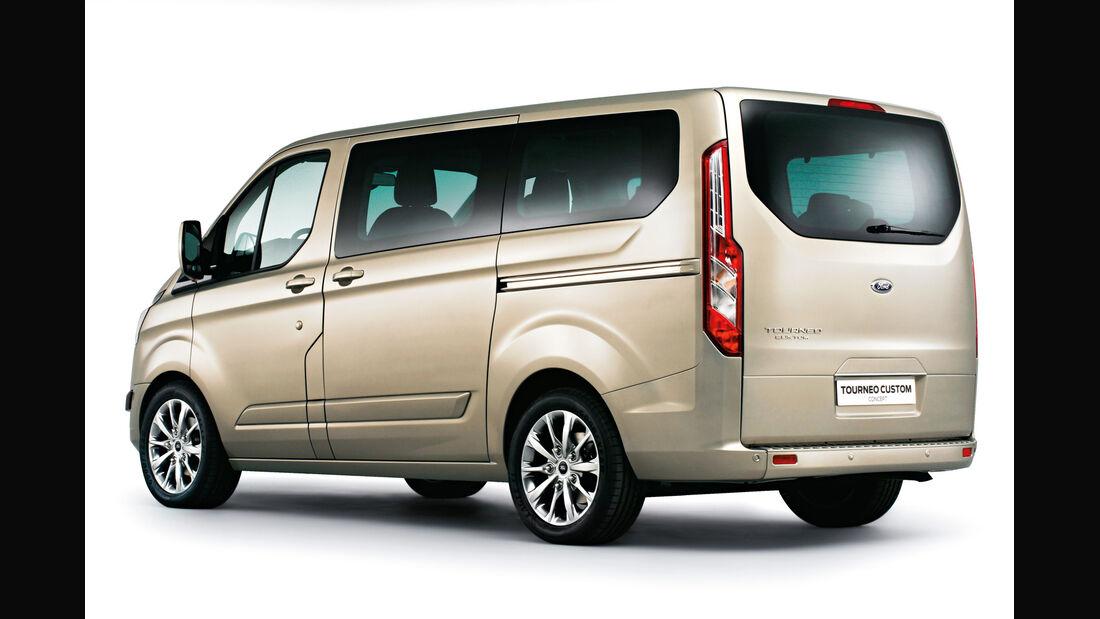 Ford Tourneo Custom, Heckansicht