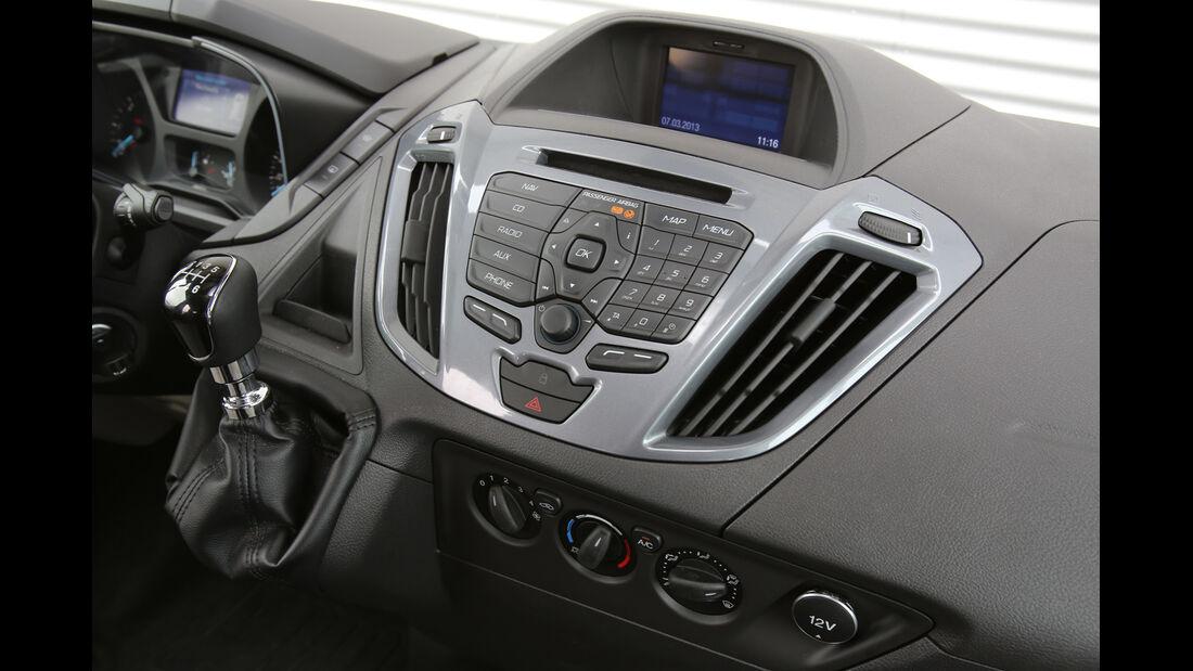 Ford Tourneo Custom, Mittelkonsole