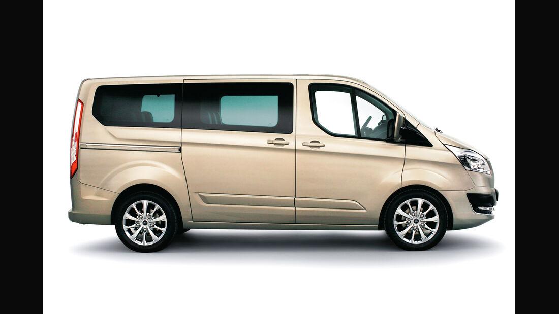 Ford Tourneo Custom, Seitenansicht