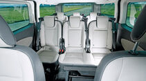 Ford Tourneo Custom, Sitze