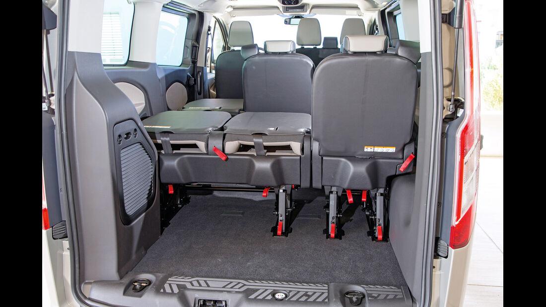 Ford Tourneo Custom, Sitzreihe