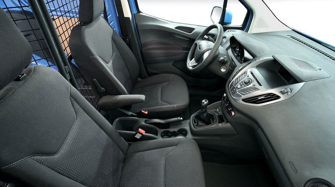 Ford Transit Courier, Innenraum