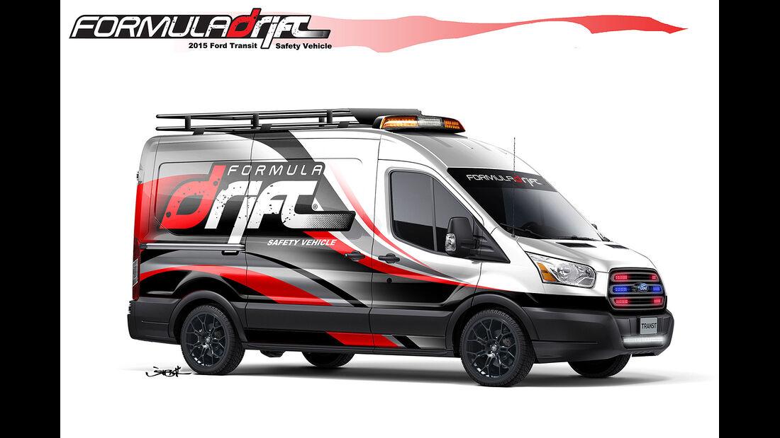 Ford Transit Formula Drift Transit