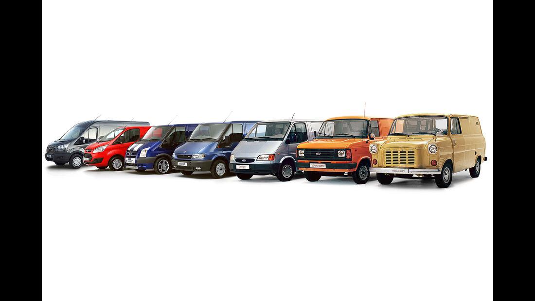 Ford Transit Generationen