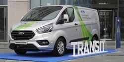 Ford Transit Plug-in Hybrid kommt nach Köln