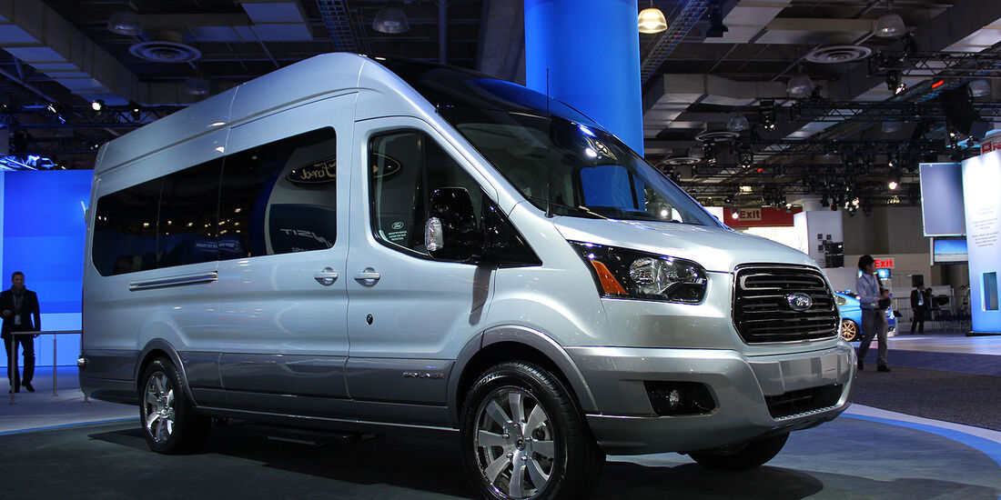 Ford Transit Skyliner Concept  New York