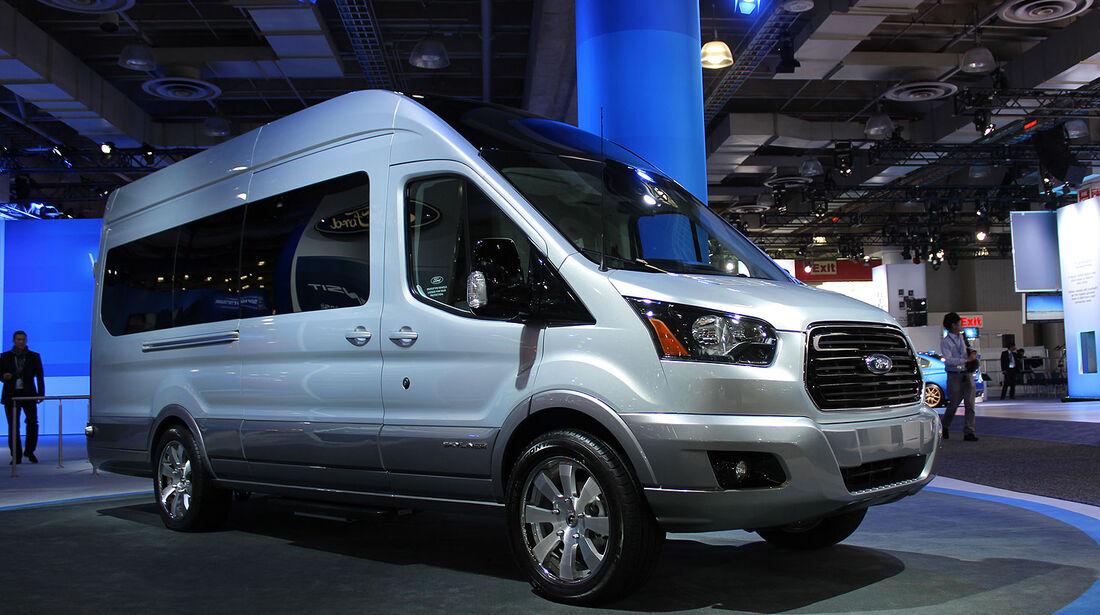 Ford Transit Skyliner Concept  New York