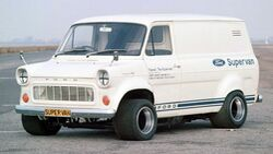 Ford Transit Supervan 1 (1971)