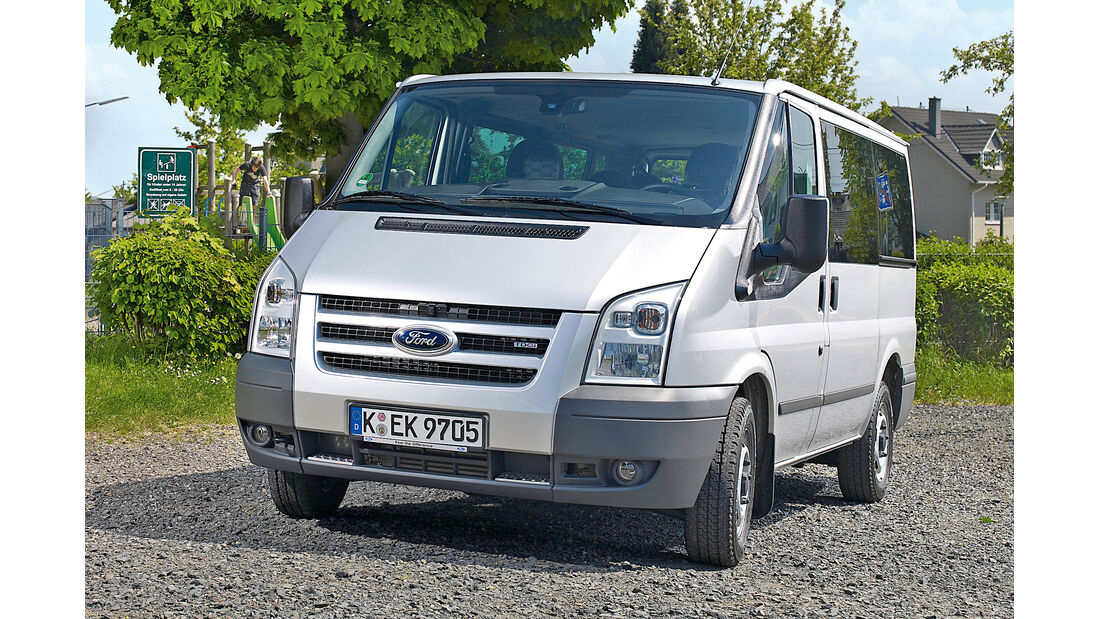 Ford Transit T280, Frontansicht