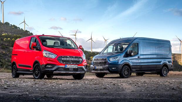 Ford Transit Tourneo Active und Trail-Versionen