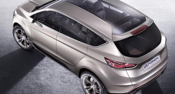 Ford Vertrek Concept, Glasdach