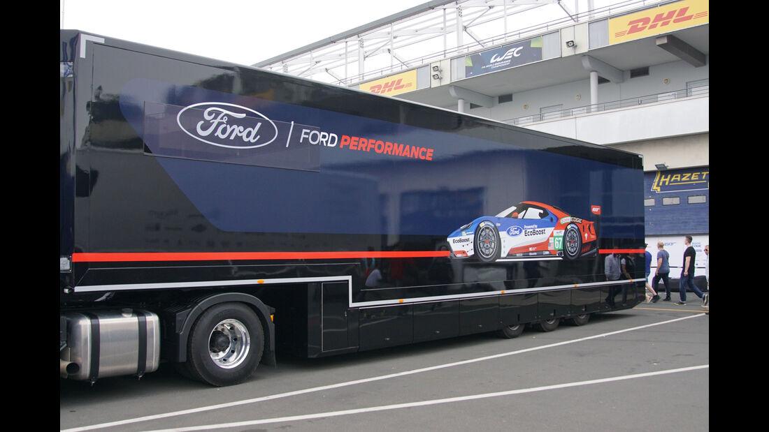 Ford - WEC - Nürburgring - 6-Stunden-Rennen - Sonntag - 24.7.2016