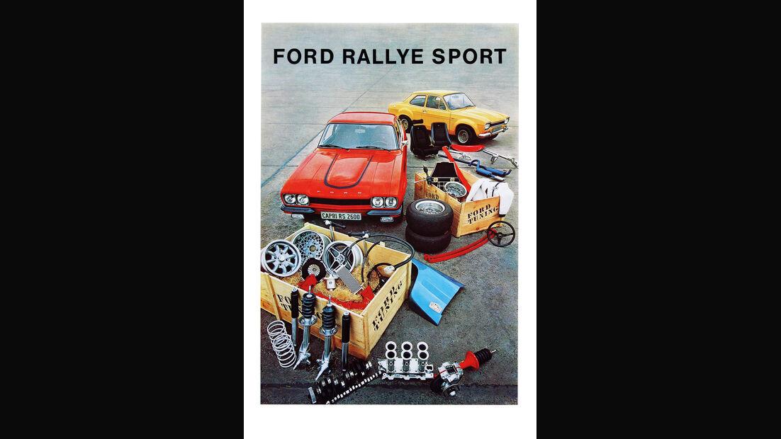 Ford, Werbeplakat
