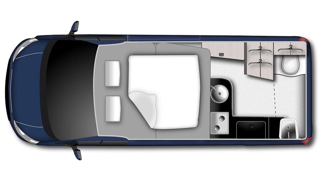 Ford Westfalia Nugget Plus