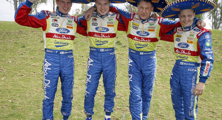 Ford World Rallye Team