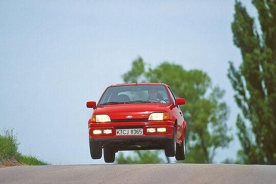 Ford XR2i 16V, Frontansicht