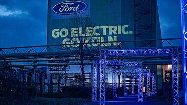 Ford investiert 1 Milliarde in Elektrifizierung des Werks Köln